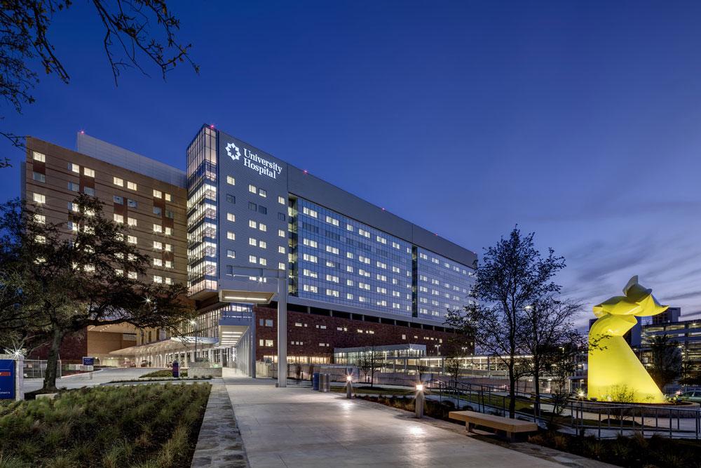 Sky Tower at University Hospital, San Antonio | Texas Air
